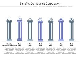 Benefits Compliance Corporation Ppt Powerpoint Presentation Infographic Cpb