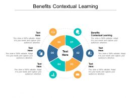Benefits Contextual Learning Ppt Powerpoint Presentation Show Design Ideas Cpb