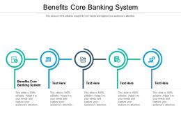 Benefits Core Banking System Ppt Powerpoint Presentation Gallery Background Image Cpb