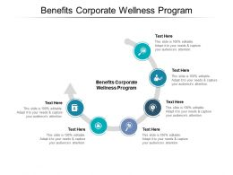Benefits Corporate Wellness Program Ppt Powerpoint Presentation Pictures Format Cpb