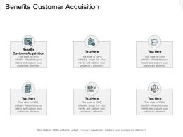 Benefits Customer Acquisition Ppt Powerpoint Presentation Professional Background Images Cpb