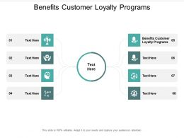 Benefits Customer Loyalty Programs Ppt Powerpoint Presentation Styles Graphics Template Cpb