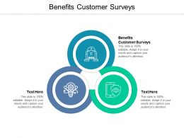 Benefits Customer Surveys Ppt Powerpoint Presentation Styles Clipart Cpb