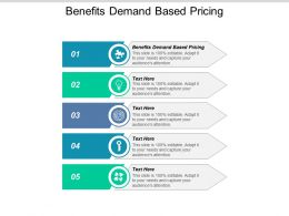 Benefits Demand Based Pricing Ppt Powerpoint Presentation File Structure Cpb