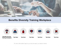 Benefits Diversity Training Workplace Ppt Powerpoint Presentation Outline Layout Ideas Cpb