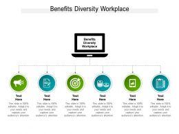 Benefits Diversity Workplace Ppt Powerpoint Presentation Portfolio Show Cpb