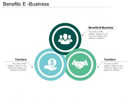 Benefits E Business Ppt Powerpoint Presentation File Smartart Cpb