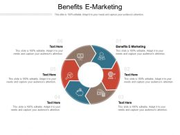 Benefits E Marketing Ppt Powerpoint Presentation Infographics Rules Cpb