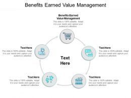 Benefits Earned Value Management Ppt Powerpoint Presentation File Slides Cpb