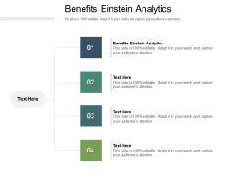 Benefits Einstein Analytics Ppt Powerpoint Presentation Professional Gridlines Cpb