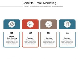 Benefits Email Marketing Ppt Powerpoint Presentation Infographics Layout Ideas Cpb