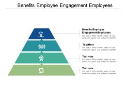 Benefits Employee Engagement Employees Ppt Powerpoint Presentation Styles Template Cpb