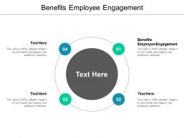 Benefits Employee Engagement Ppt Powerpoint Presentation Show Example Cpb