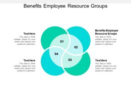 Benefits Employee Resource Groups Ppt Powerpoint Presentation Model Show Cpb