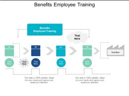 Benefits Employee Training Ppt Powerpoint Presentation File Example File Cpb