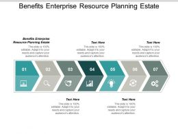 Benefits Enterprise Resource Planning Estate Ppt Powerpoint Presentation File Background Designs Cpb