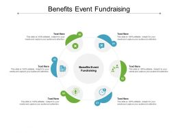 Benefits Event Fundraising Ppt Powerpoint Presentation Pictures Professional Cpb