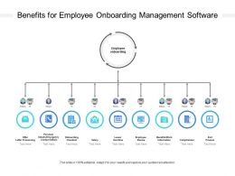 Benefits For Employee Onboarding Management Software