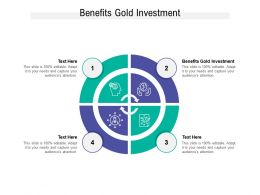 Benefits Gold Investment Ppt Powerpoint Presentation Examples Cpb