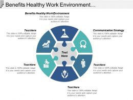 Benefits Healthy Work Environment Communication Strategy Team Productivity Cpb