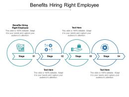 Benefits Hiring Right Employee Ppt Powerpoint Presentation Slides Example File Cpb