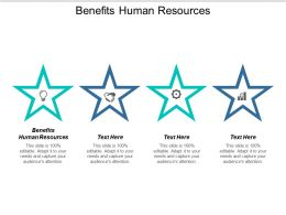 Benefits Human Resources Ppt Powerpoint Presentation Model File Formats Cpb