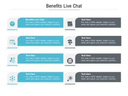 Benefits Live Chat Ppt Powerpoint Presentation Inspiration Maker Cpb