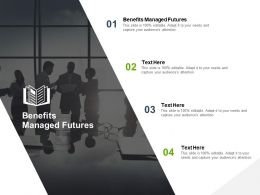Benefits Managed Futures Ppt Powerpoint Presentation Inspiration Introduction Cpb
