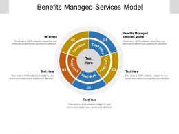 Benefits Managed Services Model Ppt Powerpoint Presentation Infographic Template Clipart Cpb