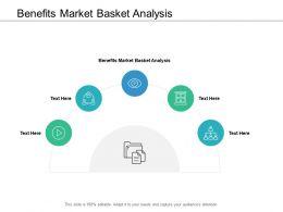 Benefits Market Basket Analysis Ppt Powerpoint Presentation Gallery Graphic Cpb