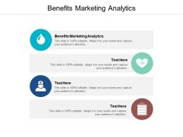 Benefits Marketing Analytics Ppt Powerpoint Presentation Pictures Show Cpb