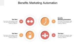 Benefits Marketing Automation Ppt Powerpoint Presentation Styles Examples Cpb