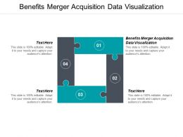 Benefits Merger Acquisition Data Visualization Ppt Powerpoint Presentation Pictures Shapes Cpb