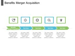 Benefits Merger Acquisition Ppt Powerpoint Presentation Icon Background Image Cpb