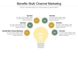 Benefits Multi Channel Marketing Ppt Powerpoint Presentation Professional Display Cpb
