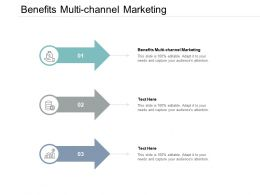 Benefits Multi Channel Marketing Ppt Powerpoint Presentation Styles Structure Cpb