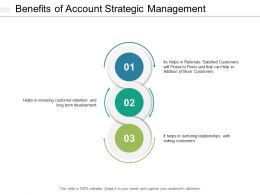 Benefits Of Account Strategic Management