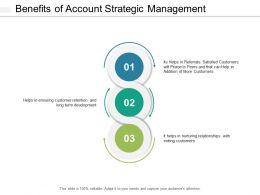 Benefits Of Account Strategic Management