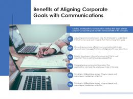 Benefits Of Aligning Corporate Goals With Communications