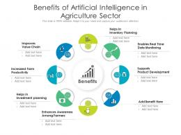 Benefits Of Artificial Intelligence In Agriculture Sector