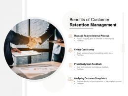 Benefits Of Customer Retention Management