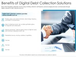 Benefits Of Digital Debt Collection Solutions