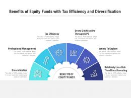 Benefits Of Equity Funds With Tax Efficiency And Diversification