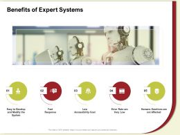 Benefits Of Expert Systems Fast Response Ppt Powerpoint Presentation File Rules