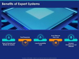 Benefits Of Expert Systems Ppt Powerpoint Presentation Infographic