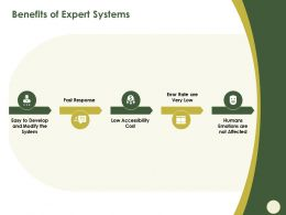 Benefits Of Expert Systems Very Low Ppt Powerpoint Presentation Ideas Design Inspiration