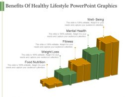 Benefits Of Healthy Lifestyle Powerpoint Graphics
