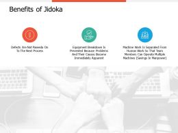 Benefits Of Jidoka Planning Ppt Professional Guidelines