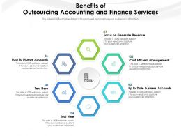 Benefits Of Outsourcing Accounting And Finance Services