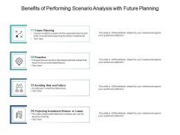 Benefits Of Performing Scenario Analysis With Future Planning
